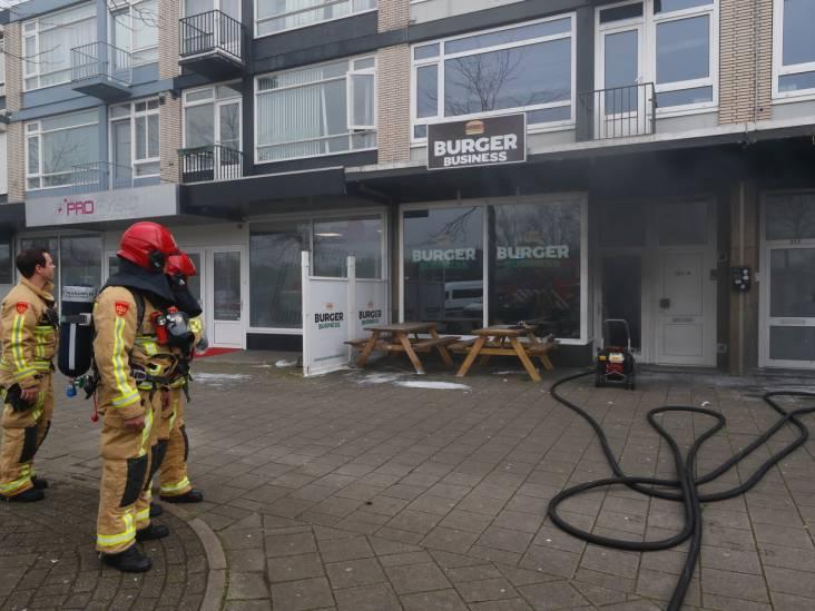 Brandje bij Burger Business in Eindhoven