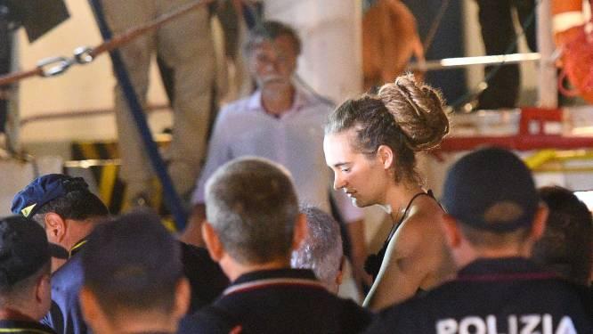 Kapitein Sea-Watch opgepakt in haven van Lampedusa