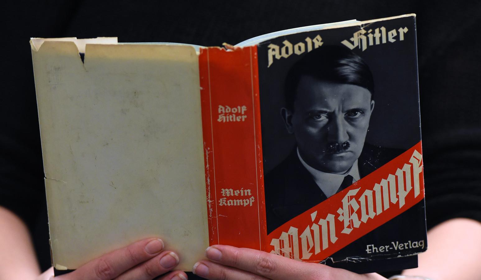 Hitlers Mein Kampf blijkt onder leerlingen het bekendste Duitstalige boek te zijn