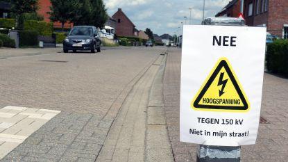 """Buurtbewoners willen geen hoogspanningskabel door hun woonwijk: """"Geen rekening gehouden met onze gezondheid"""""""