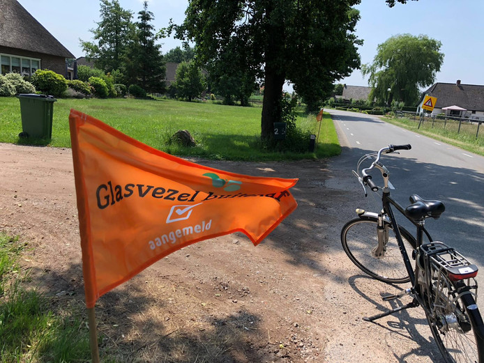 Promotie van Glasvezel Buitenaf in het buitengebied van Ede.