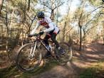 Mathieu van der Poel knap vierde op WK Mountainbike