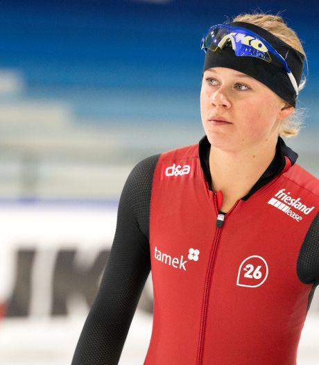 Schaatsster Femke Beuling (21) uit Emmeloord verlaat Team IKO: 'Ik sta al twee jaar stil'