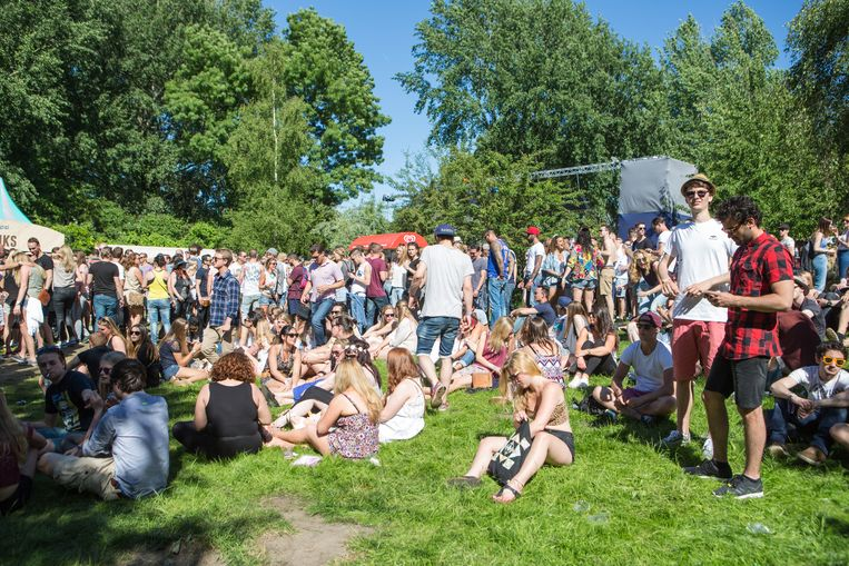 Open Air Festival in 2015. Beeld Eva Plevier