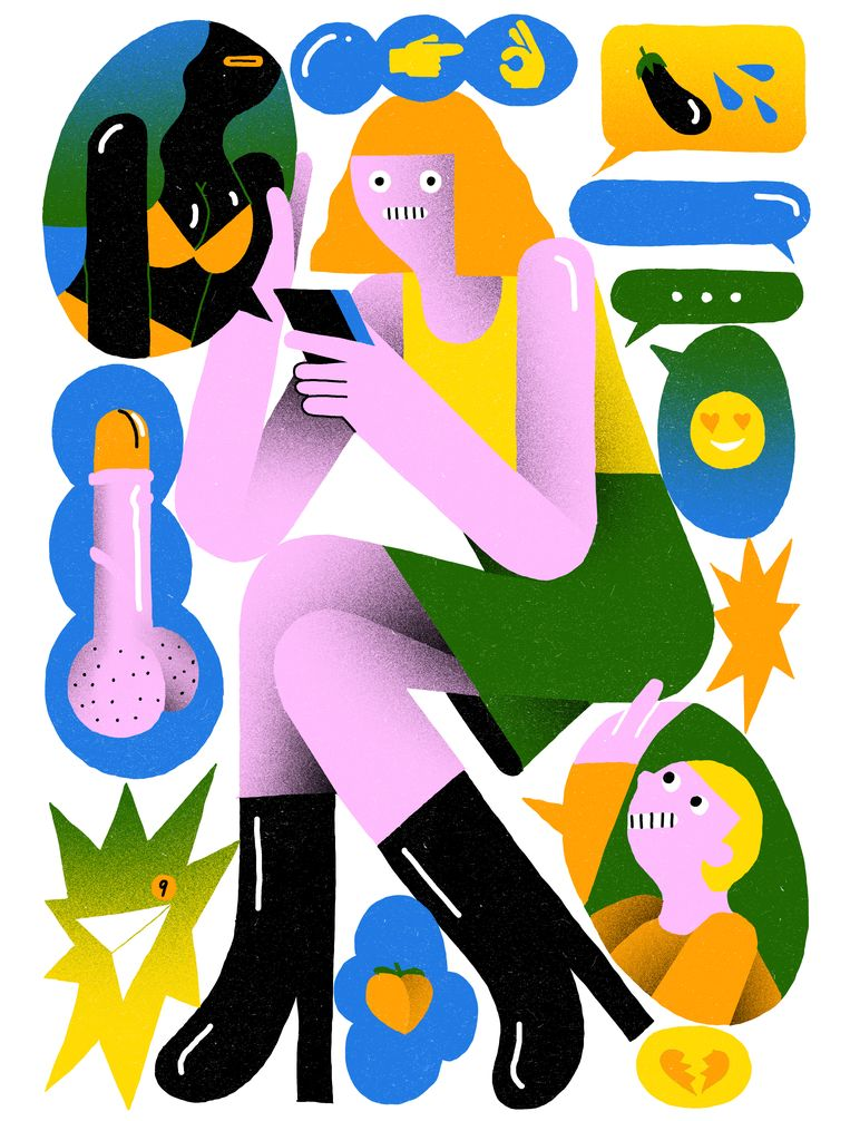 Levi Jacobs illustraties dating Beeld Levi Jacobs