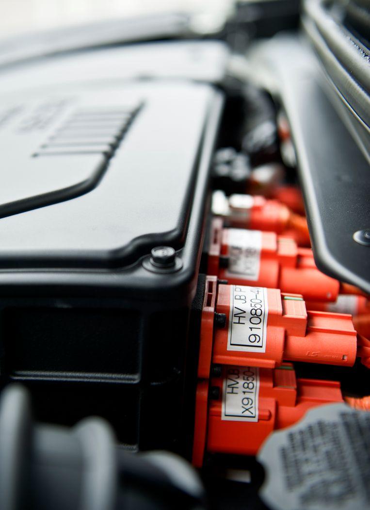 De Watertstof auto van Hyundai   Beeld Koen Verheijden