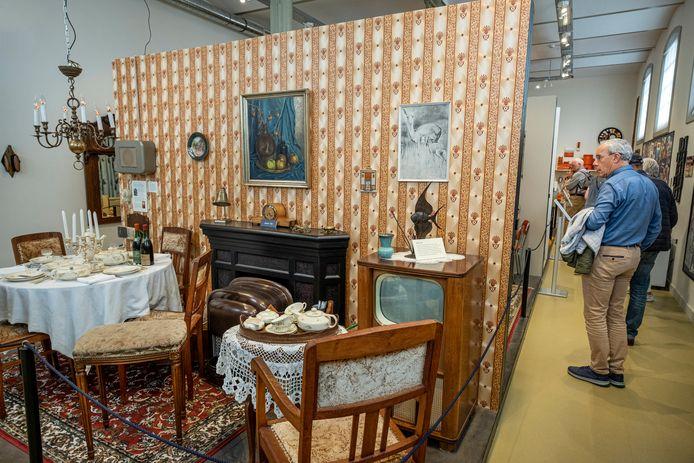 Museum van de 20ste eeuw - een huiskamer uit de jaren 50