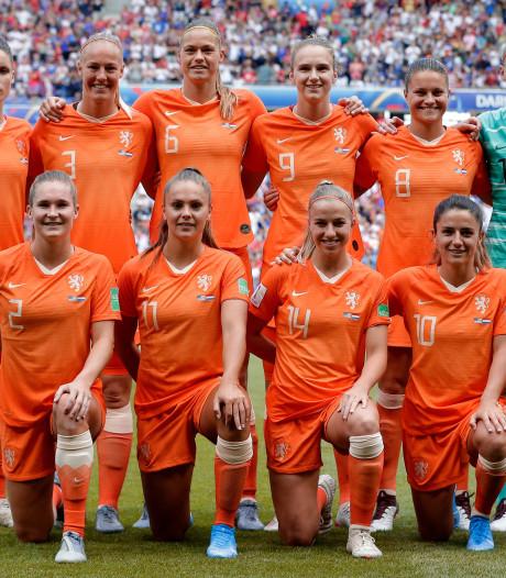 Martens en Van der Gragt terug bij Oranje voor oefentoernooi in Frankrijk