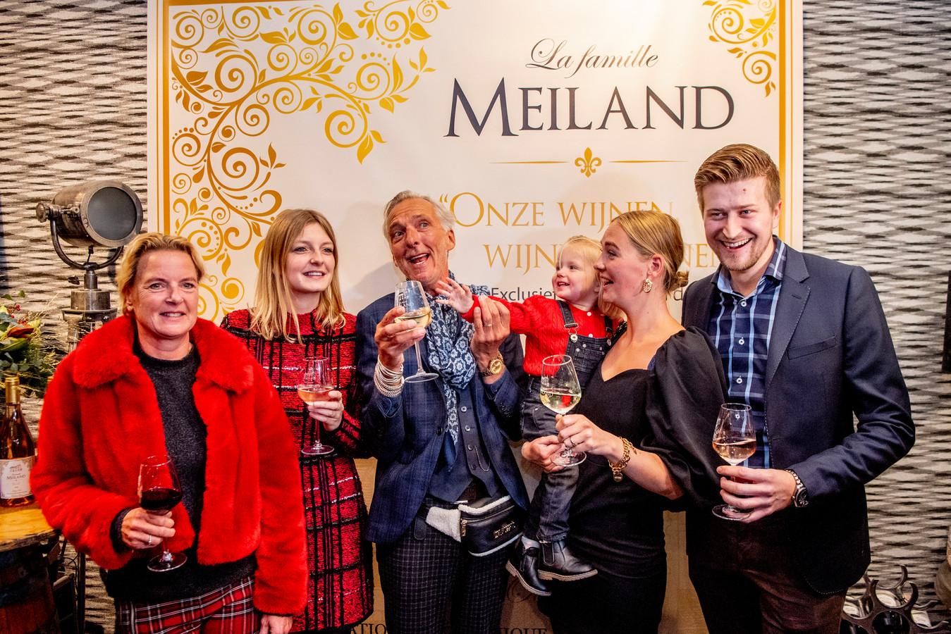 De familie Meiland.