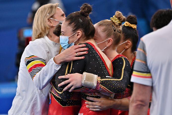 Quatre finales: l'équipe nationale de gymnastique a assuré.