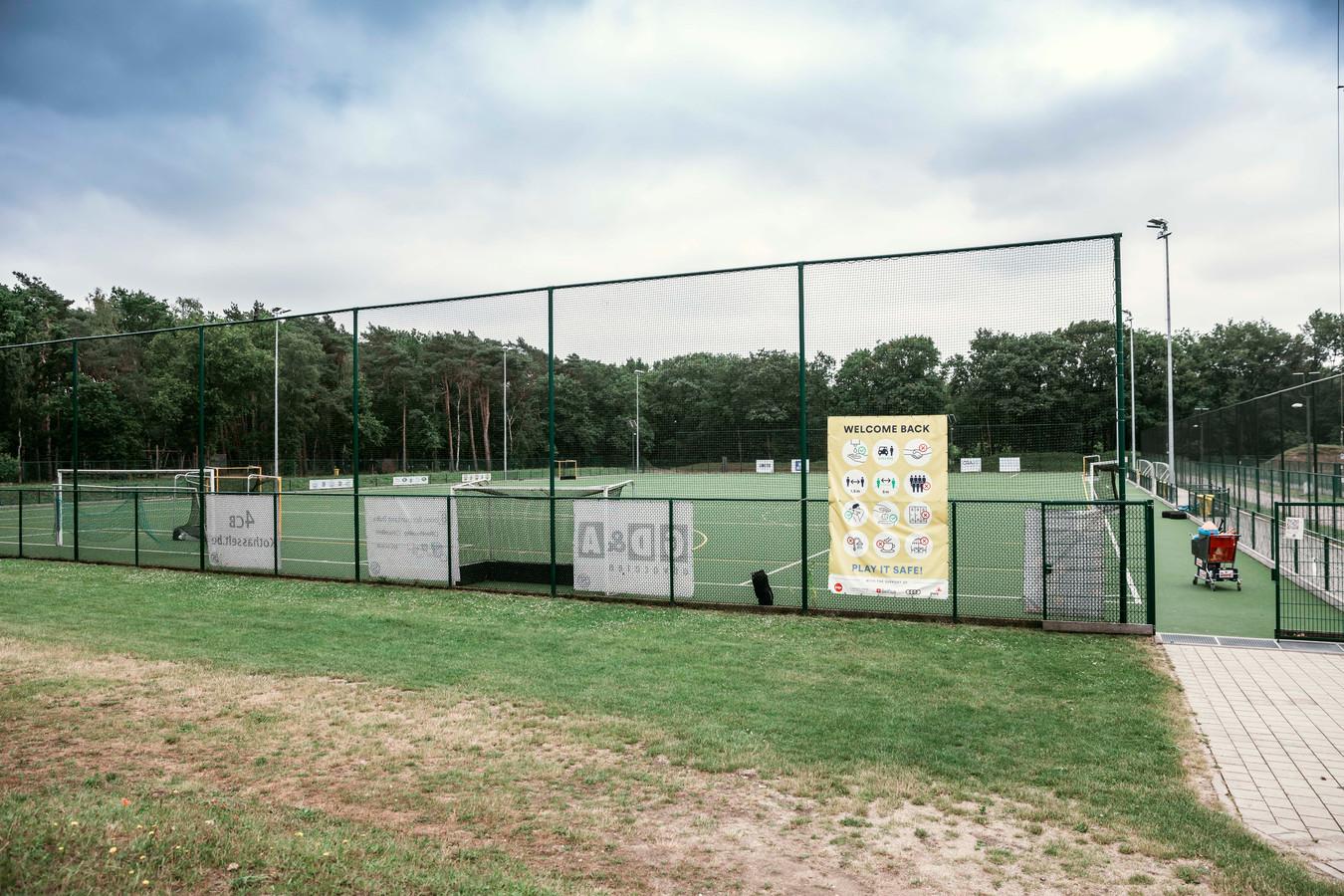 Een archiefbeeld van de sportsite in Kiewit, waar ook een atletiekpiste is gelegen.