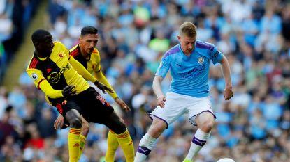 LIVE. City schiet vijf keer raak in eerste 18 minuten, 'crossmeester' De Bruyne zit aan tien assists voor club en land
