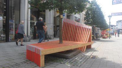 Houten kunst van 25.000 euro in de Korte Zoutstraat is na anderhalf jaar weer afgebroken