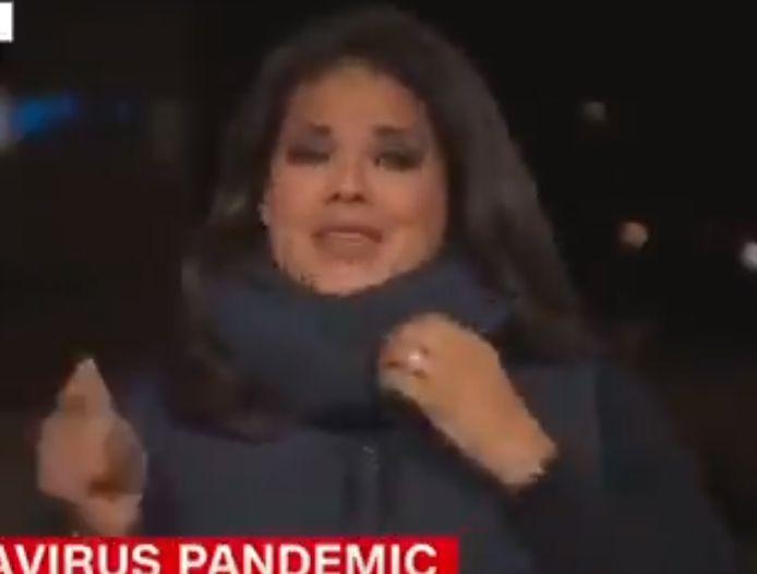 La journaliste américaine Sara Sidner