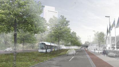 Licht op groen voor tram 7