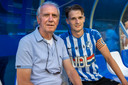 Mitchel van Rosmalen timmert aan de weg als profvoetballer bij FC Eindhoven en looft de lessen van zijn beroemde opa.