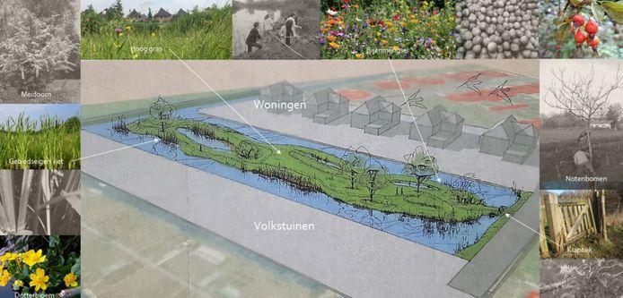 Een stuk weiland in Nieuw-Lekkerland wordt vanaf komende maand omgetoverd tot natuurgebied, waar de ijsvogel kan komen broeden.
