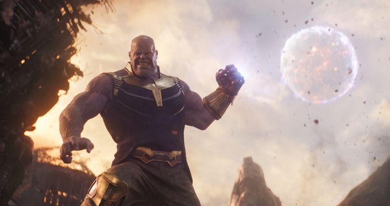 Opperslechterik Thanos heeft zijn zinnen gezet op alle zes Infinity Stones. Beeld Marvel Studios