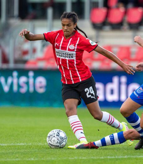 Vrouwen PSV openen eredivisieseizoen met 3-0 zege op PEC