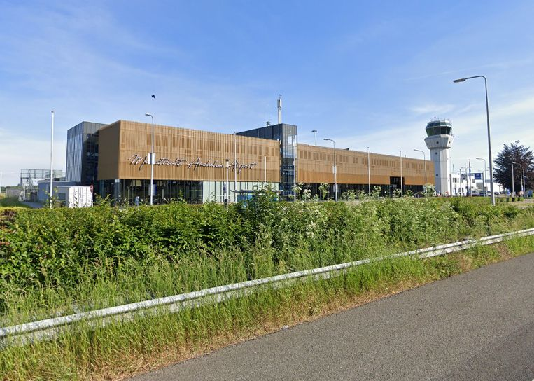 Maastricht Aachen Airport Beeld Google Maps