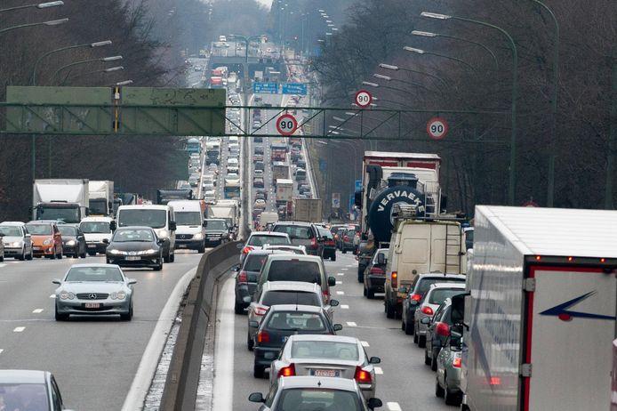 Le trafic aux abords des Quatre Bras est souvent très dense.