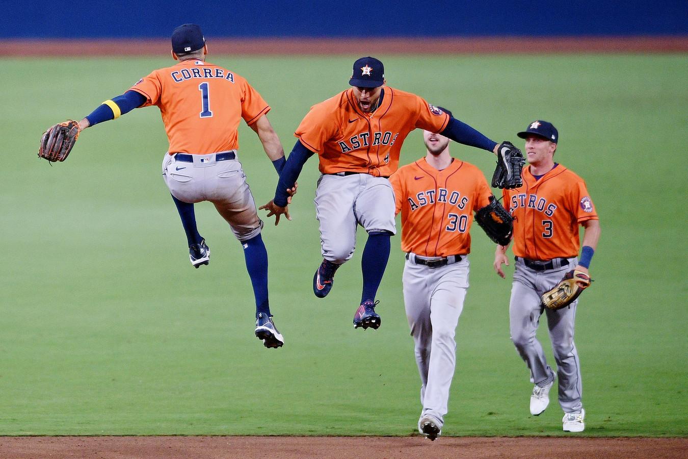 Feest bij de Houston Astros