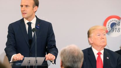 Macron wil autonome Europese defensie in plaats van Amerikaanse wapens te kopen