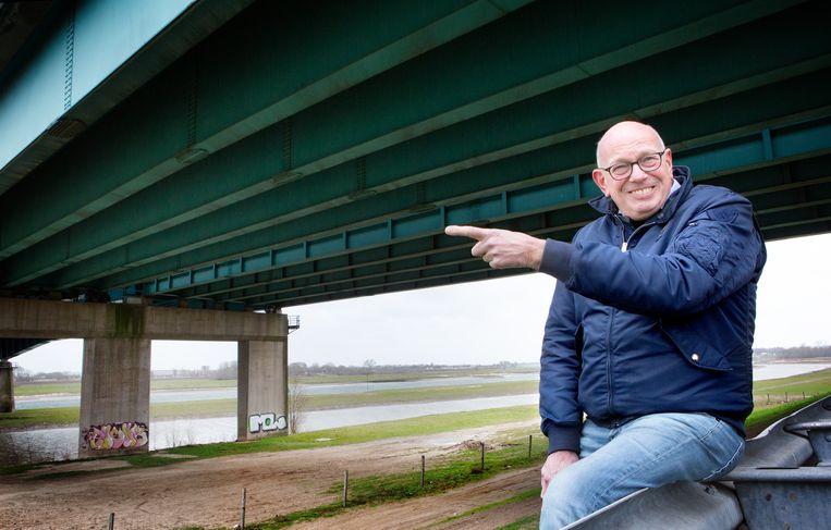 Fred van Lemmen stelt dat de productie van zo'n thoriumcentrale gelijk kan staan aan de elektriciteitsproductie van de allergrootste windmolenparken. Beeld Maarten Hartman