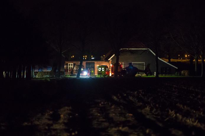 Een 47-jarige vrouw kreeg een elektrische schok in Bergen op Zoom.