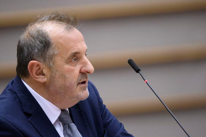 Benoît Piedboeuf, chef de groupe MR à la Chambre.