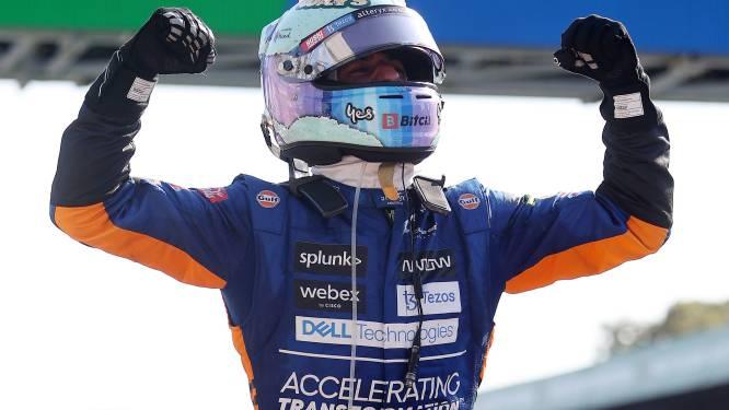 McLaren profiteert met één-tweetje optimaal van flinke crash Verstappen en Hamilton