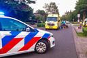 Man ernstig gewond na val van fiets in Budel.