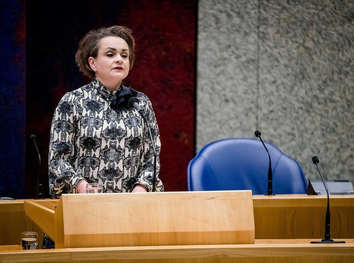 Demissionair Staatssecretaris Alexandra van Huffelen van Financien.