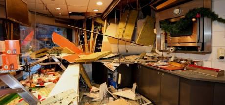Zo groot is de ravage in Heeswijk-Dinther na explosie bij Poolse supermarkt