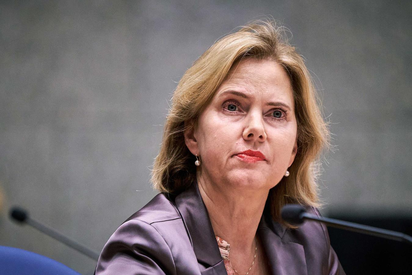Minister Cora van Nieuwenhuizen.