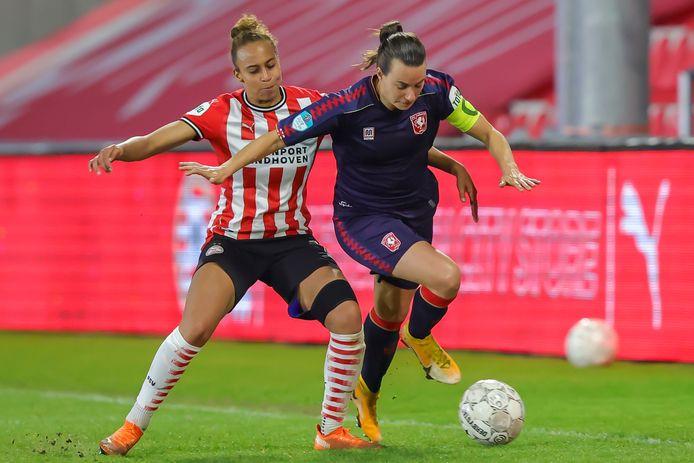 Veel zal in de play-offs afhangen van aanvoerder Renate Janssen.