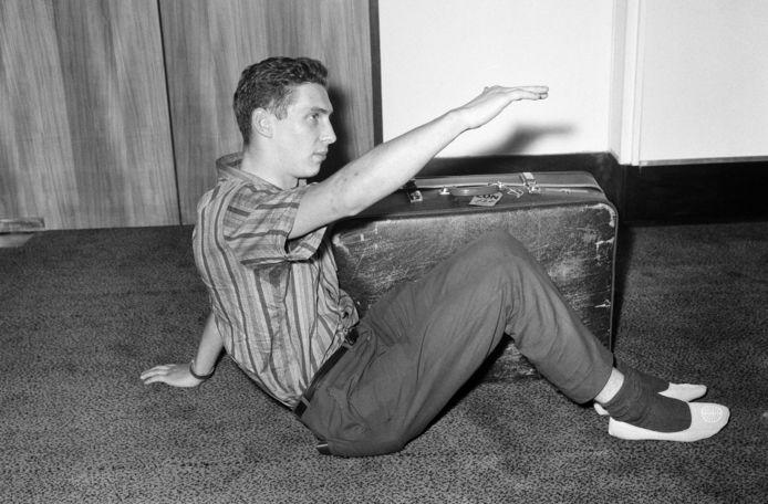 Brian Robson op een archieffoto.