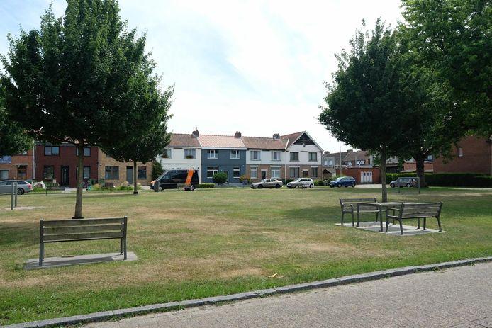De Koornbloemwijk is een erg groene wijk.