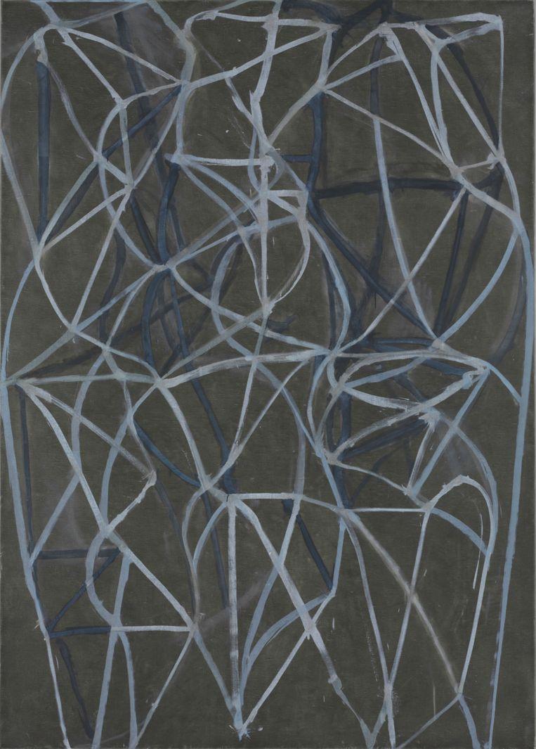 Brice Marden, '3' (1987-1988). Beeld The Baltimore Museum of Art