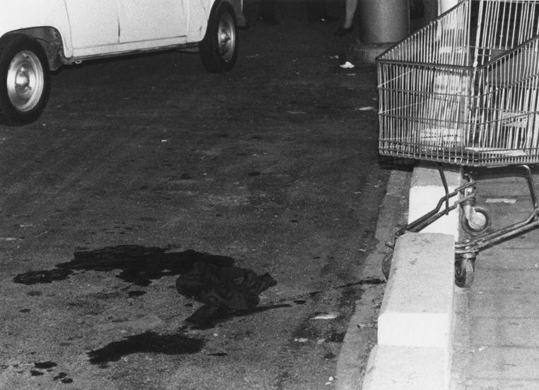 27 augustus 1985, raid op de Delhaize in Braine l'Alleud. Beeld Belga