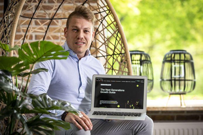 Joost Lansink wil met Innomads meer bedrijfsgroei in Twente realiseren.