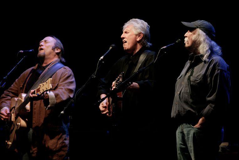 Het legendarische trio beleefde in de jaren zeventig zijn hoogtepunt. Beeld ANP