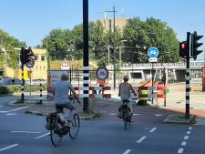 Ook wethouder Grashoff baalt van vele opbrekingen fietspaden, 'Maar soms kan het niet anders'