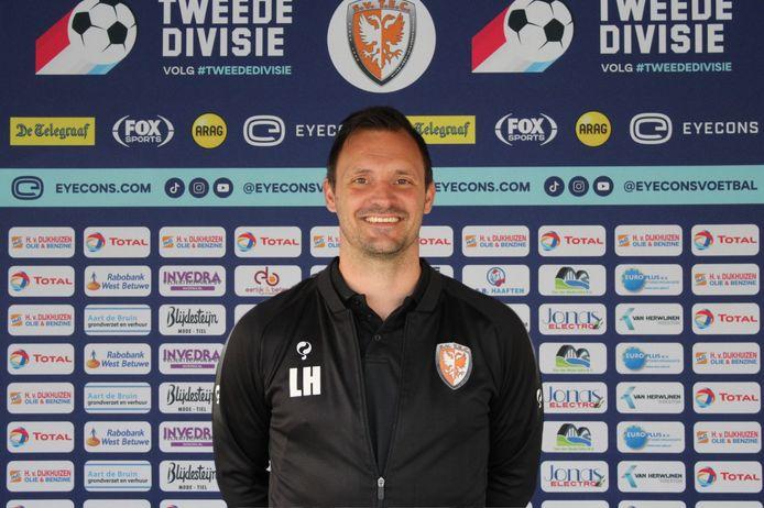 Léon Hese zit komend seizoen op de bank als assistent-trainer van Hans van de Haar.