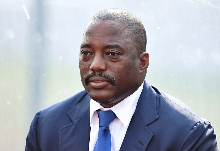 Joseph Kabila. Beeld AFP