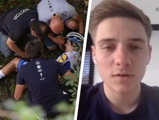 """Evenepoel bevestigt mail naar UCI-voorzitter: """"Ik werd zwartgemaakt terwijl ik half gebroken in zetel lag"""""""
