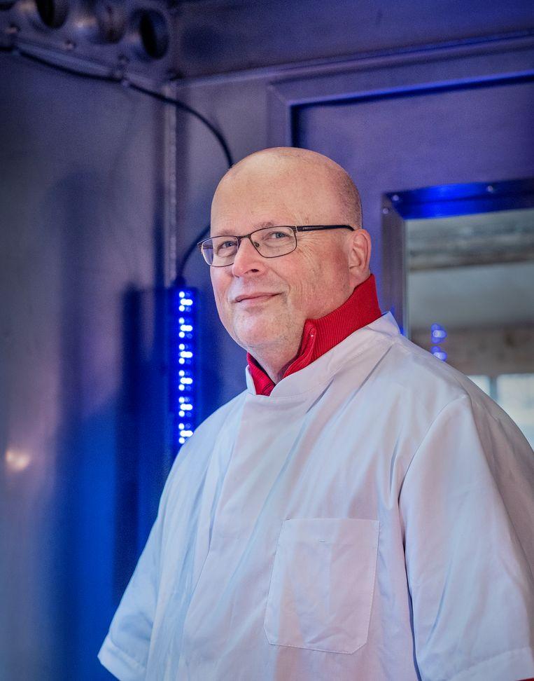 Peter van Wees is de uitvinder van de Quick Breath Analyser. Beeld Patrick Post