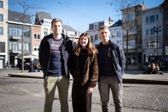 MECHELEN Arthur Schurmans, Fien De Smet en Elliot Smolders organiseren Hartescape op de Korenmarkt