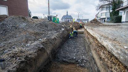Archeologen ontdekken eerste 'wegdek' in Eisden-Dorp