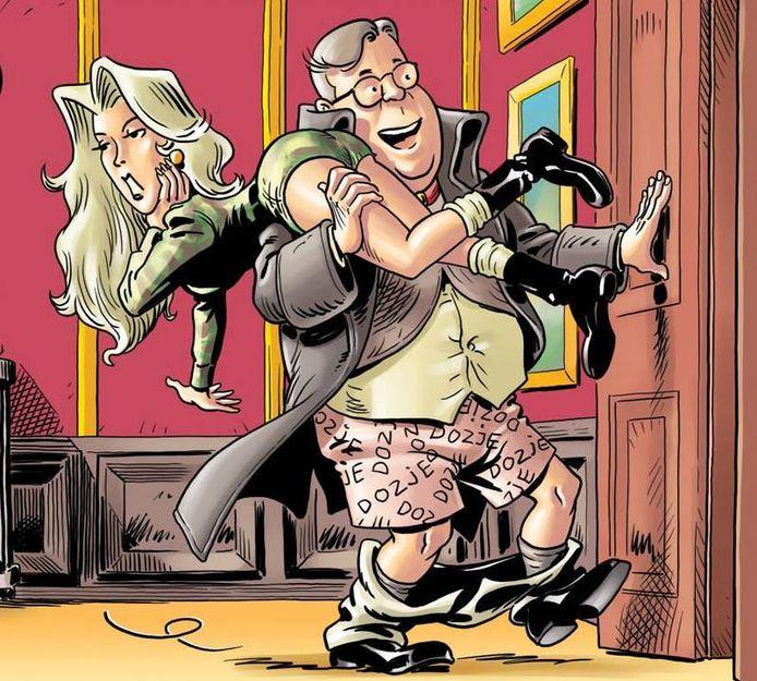 AKV Nèm Na start met een eigen stripreeks, De Wanabies.